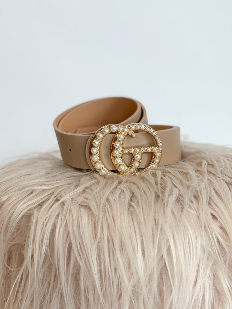 Over It Belt : Taupe