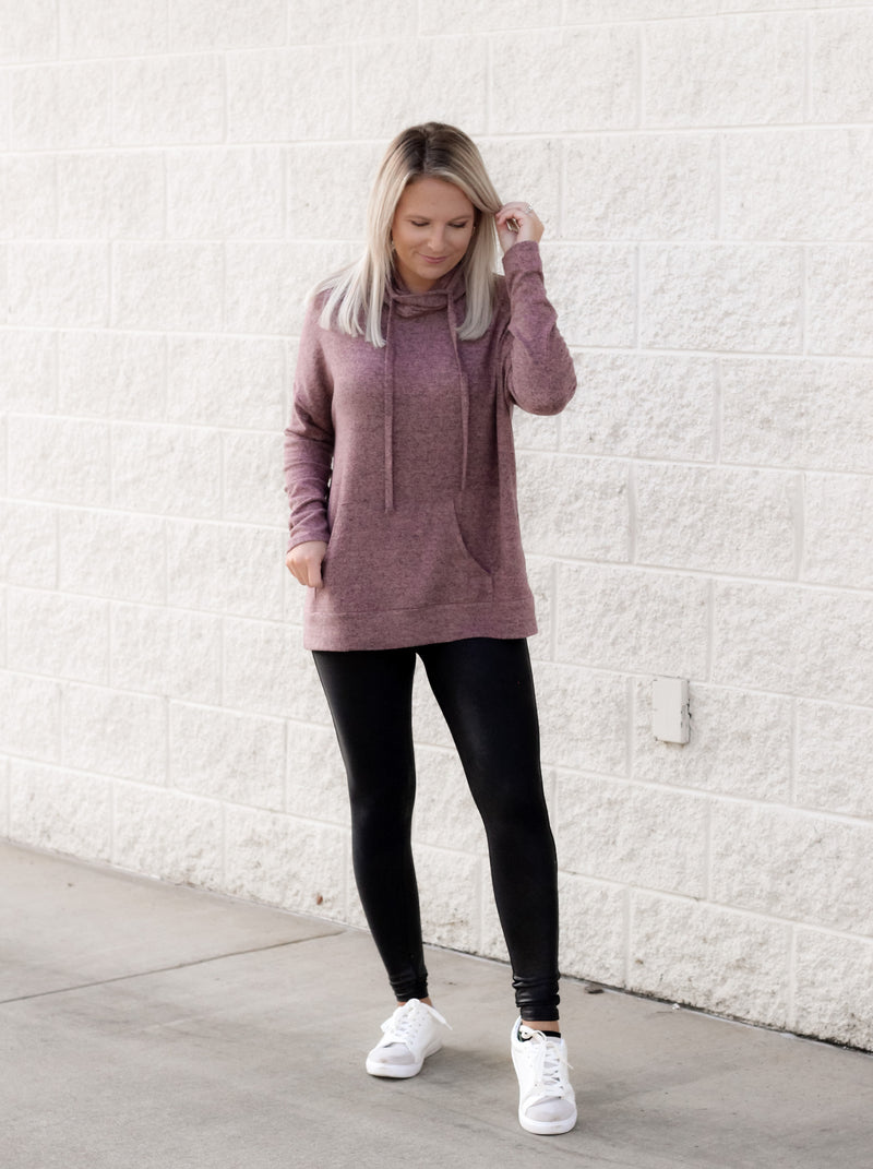 Hold My Hand Sweater : Mauve