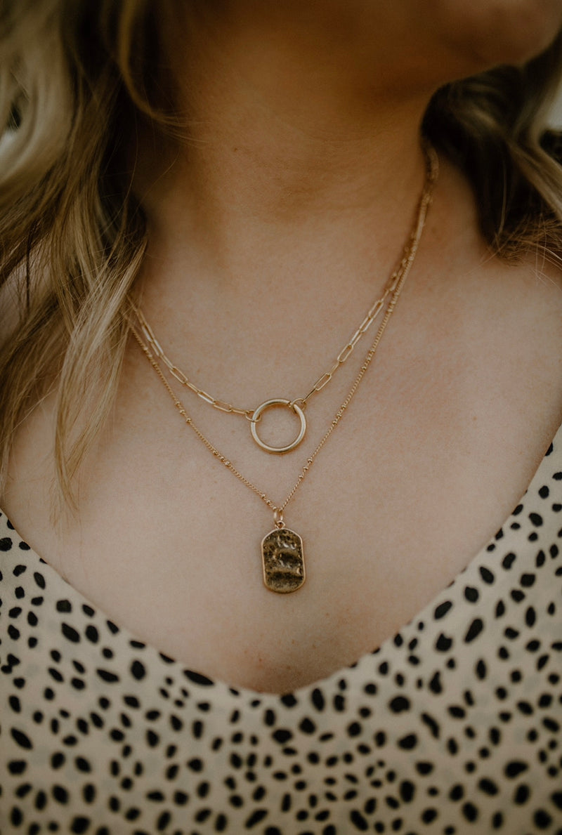 Run & Hide Necklace