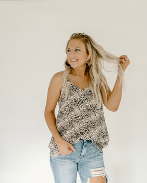 Day Dreamer Tank : Taupe