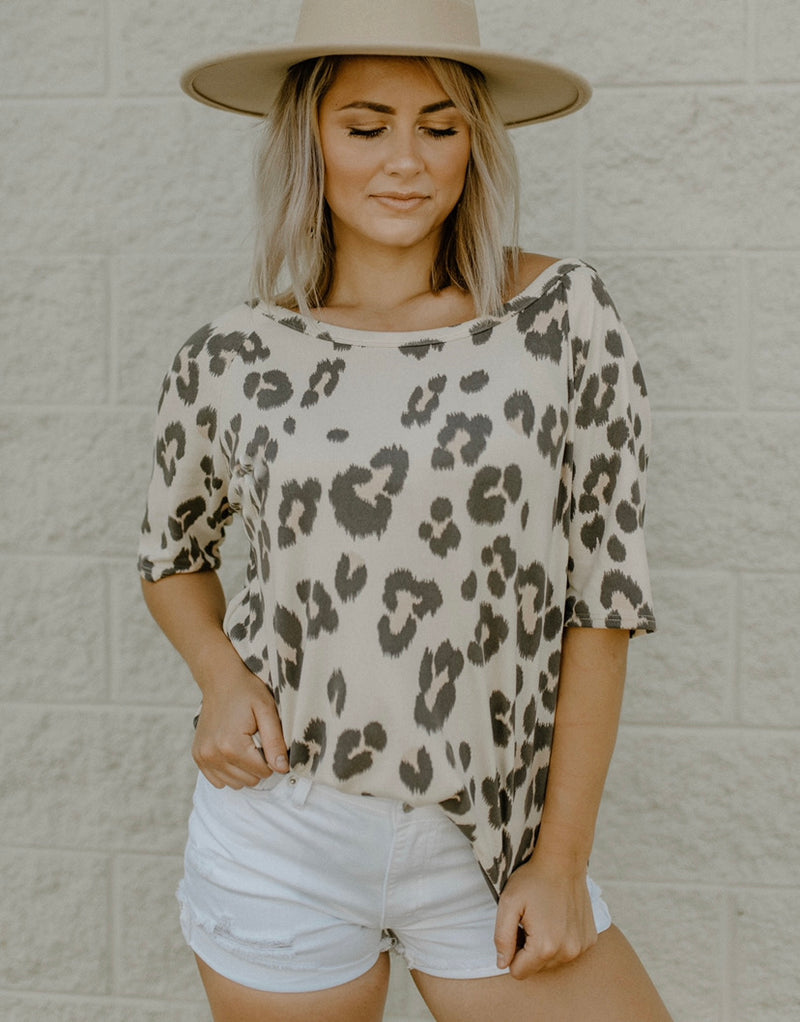 Big Deal Top : Taupe
