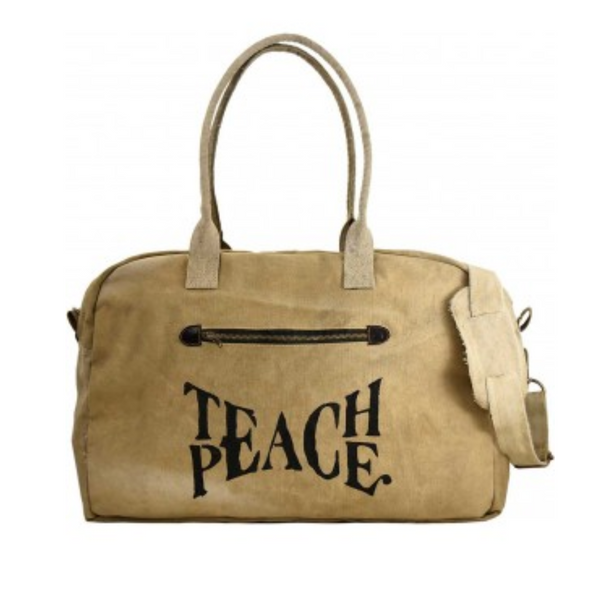 Teach Peace Travel Bag