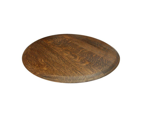 Reclaimed Barrel Lazy Susan