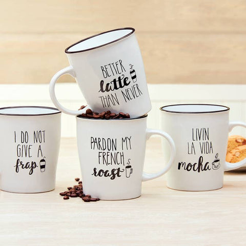 Ceramic Coffee Mugs 25 oz