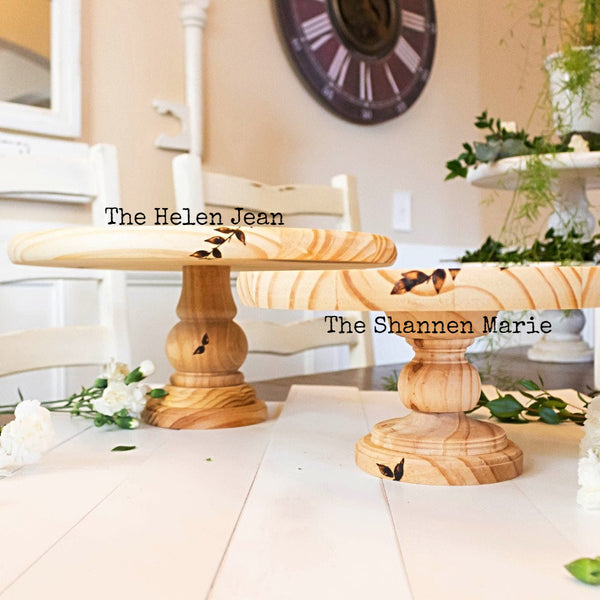 Rustic Cake Stands