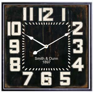 Smith & Dunn Oversized Round Decorative Wall Clock