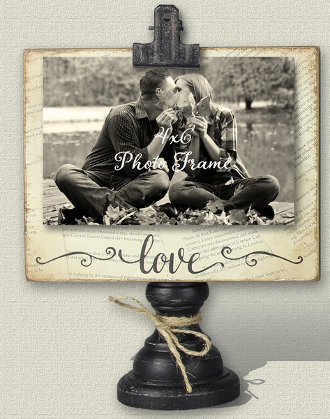 Standing Wood Photo Frame