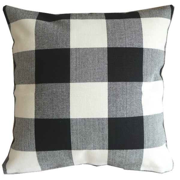 Checkered Decorator Throw Pillow