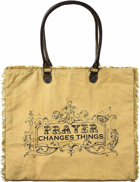 Prayer Changes Things Tote
