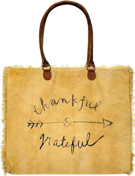 Thankful and Grateful Tote