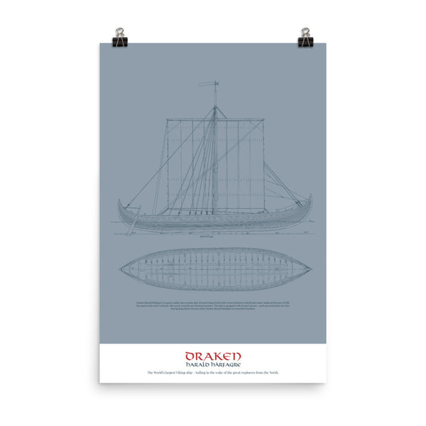 The Draken Blueprint Poster