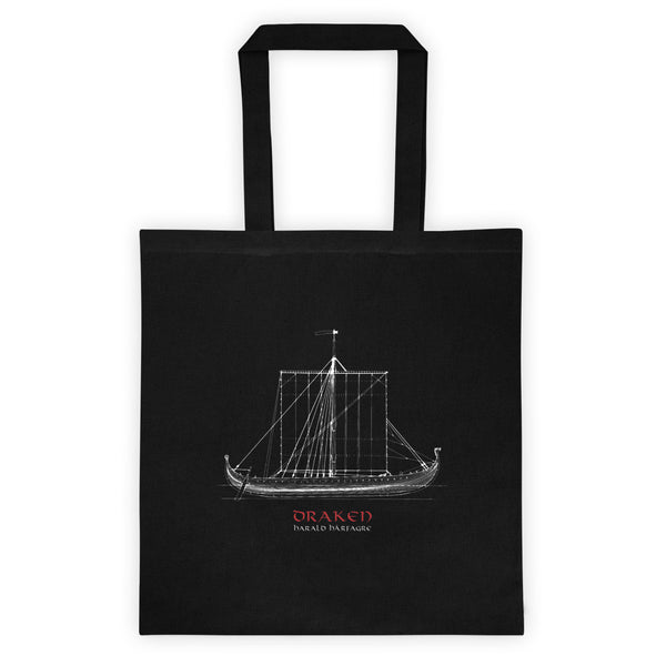 Draken ship Tote bag nr.2
