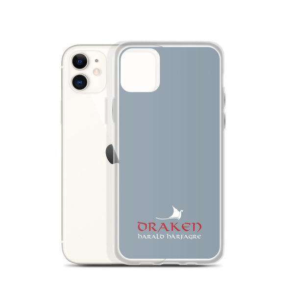 Draken iPhone Case Gray
