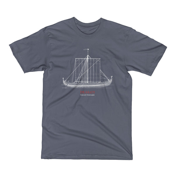 Draken ship T-shirt nr.2 (Men)