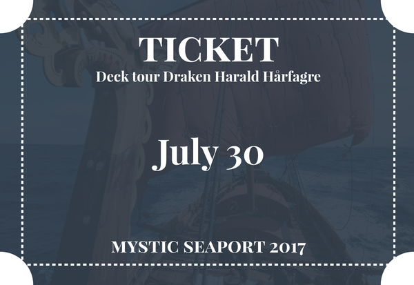 Deck Tour July 30, 2017