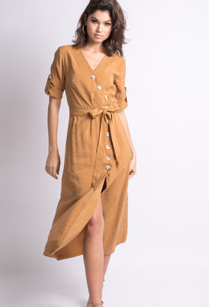 Shania Asymmetric Dress