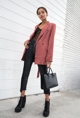 Grace Satin Blazer