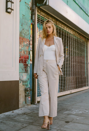 Bella Linen Suit