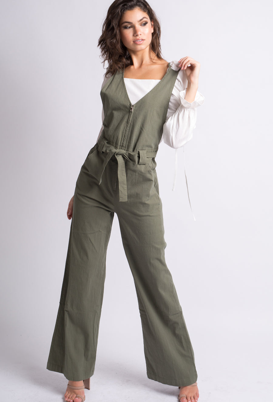 Malorie Sleeveless Jumpsuit