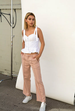 Bottoms - Pin Tuck Pant