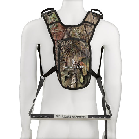 LIMITED EDITION EXPLORER-MOSSY OAK CAMO Toddler Carrier w/ Safety Harness Backpack and Storage