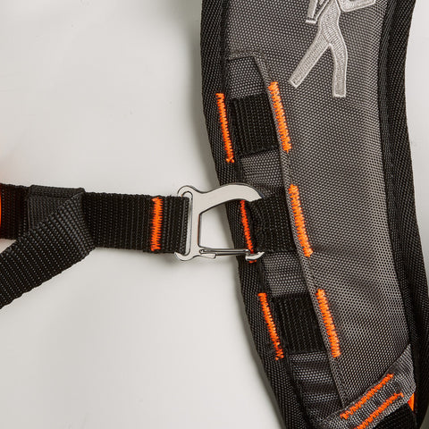 SCOUT Toddler Carrier with Safety Harness - Black Only