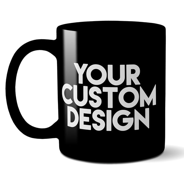 Custom 11oz Mug (Black)