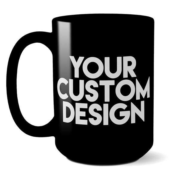 Custom 15oz Mug (Black)