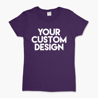 Custom Large T-Shirt (Gildan 2000L Purple)
