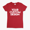 Custom Small T-Shirt (Gildan 2000L Red)