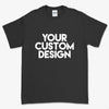 Custom Medium T-Shirt (Gildan 2000 Black)