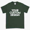 Custom Small T-Shirt (Gildan 2000 Forest Green)