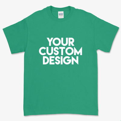 Custom 5XL T-Shirt (Gildan 2000 Kelly Green)