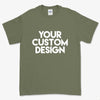 Custom 5XL T-Shirt (Gildan 2000 Military Green)