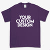 Custom Medium T-Shirt (Gildan 2000 Purple)