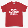 Custom 5XL T-Shirt (Gildan 2000 Red)