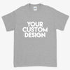 Custom 5XL T-Shirt (Gildan 2000 Sport Grey)
