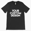 Custom 3XL T-Shirt (Bella 3001 Black)
