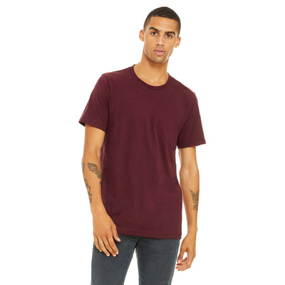 Custom Medium T-Shirt (Bella 3001 Maroon)