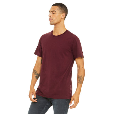Custom X-Small T-Shirt (Bella 3001 Maroon)