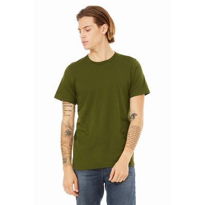 Custom X-Small T-Shirt (Bella 3001 Olive)