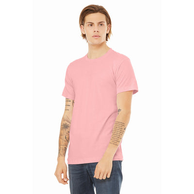 Custom Medium T-Shirt (Bella 3001 Pink)