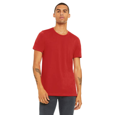 Custom Medium T-Shirt (Bella 3001 Heather Red)