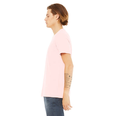 Custom Medium T-Shirt (Bella 3001 Soft Pink)