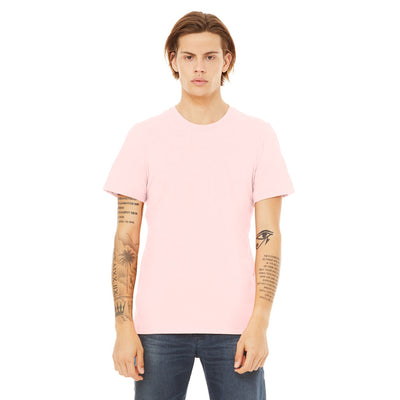 Custom Small T-Shirt (Bella 3001 Soft Pink)
