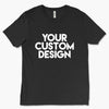 Custom Medium T-Shirt (Bella 3413C Charcoal Black)