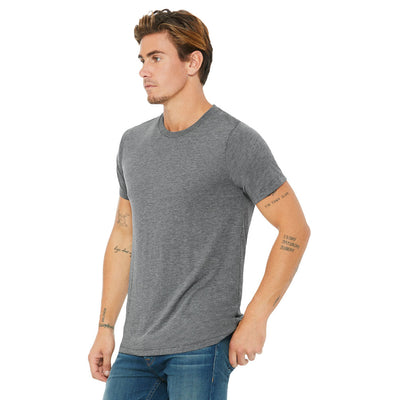 Custom X-Small T-Shirt (Bella 3413C Grey)