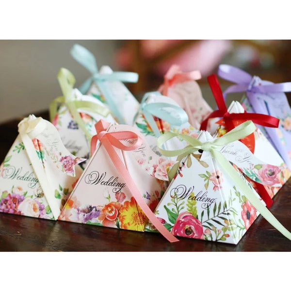 100 set pyramid style wedding favour - Wedding Favours Wellington