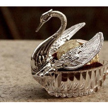 50 pieces Swan Wedding Favour boxes Bomboniere candy box.