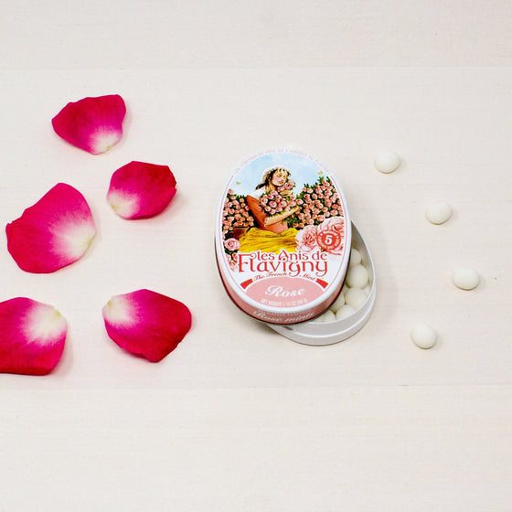 Anis of Flavigny Rose Candy - French Bonbons
